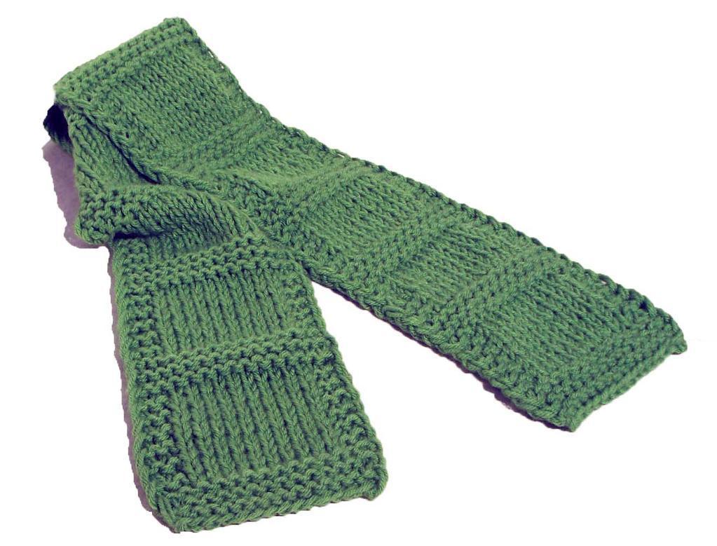 Breckenridge Scarf Knitting Pattern
