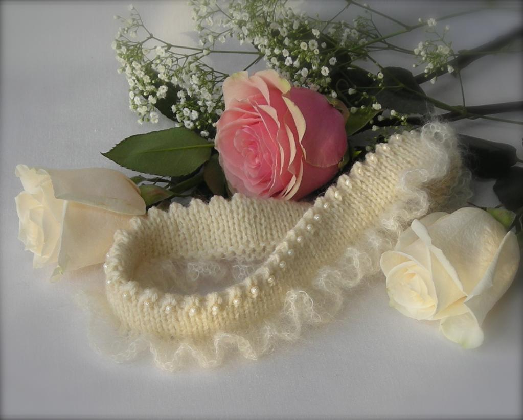 Wedding Knit Garter