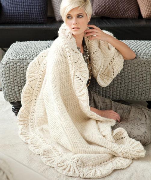 Lace Edge Blanket