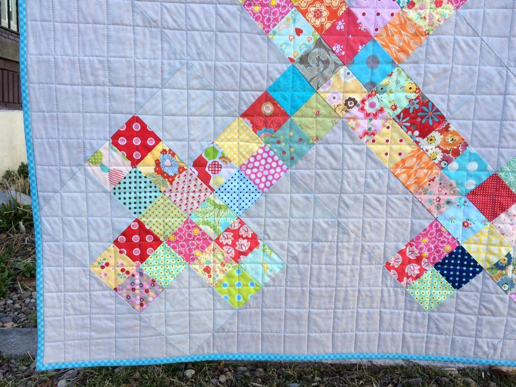 Piper's Picket Fence quilt pattern
