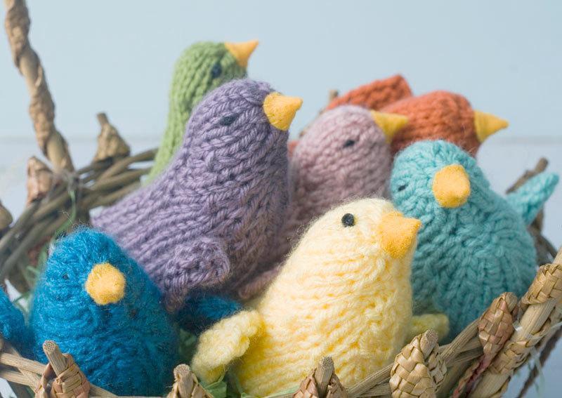 Knitting Pattern for Toy Bird Waldorf
