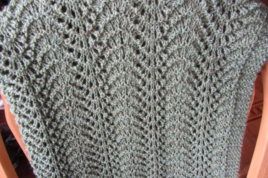 Bryson's Baby Blanket FREE Knitting Pattern