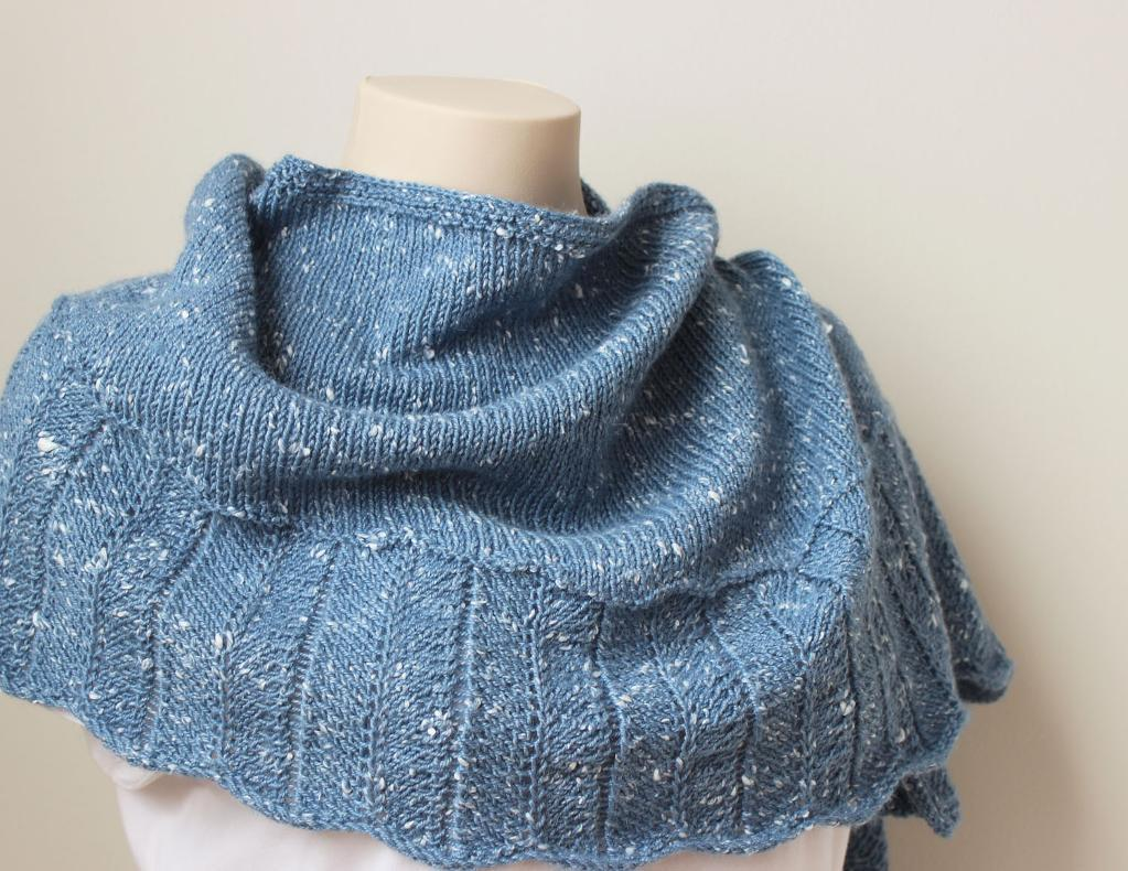 Tweedy Shawl Knitting Pattern