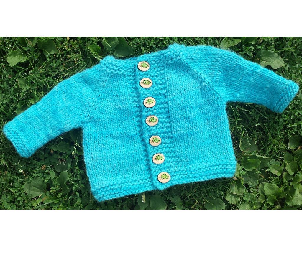 Kimes Baby and Toddler FREE Sweater Knitting Pattern