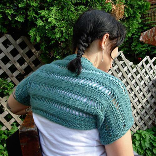 Mi'raj Shrug FREE Knitting Pattern
