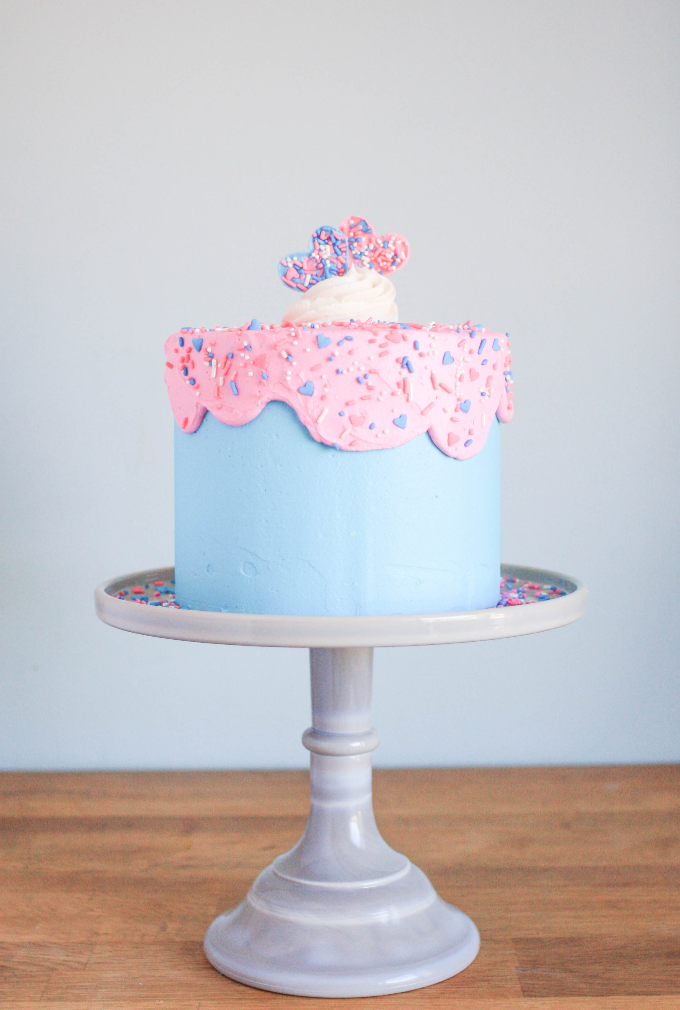 How to Make a Gender Reveal Cake | Erin Gardner | Bluprint