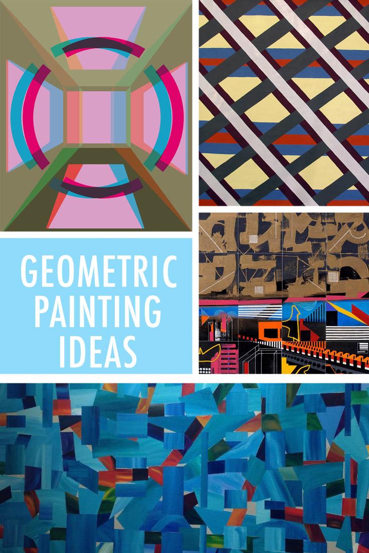 Geometric painting ideas