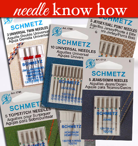 Embroidery Needles Guide