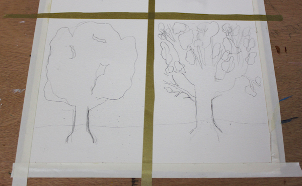 Sketch of trees