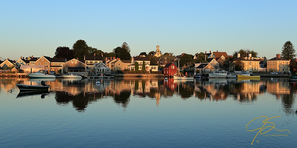 Portsmouth's South End photographed using the Landscape picture style