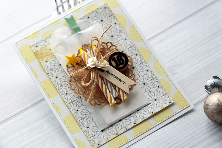 Sweet 16 Candles Card