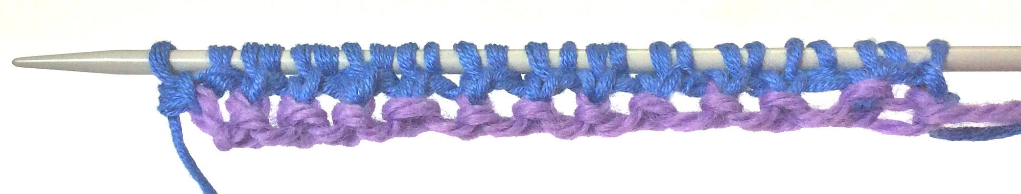 Tubular Cast-on Row 3