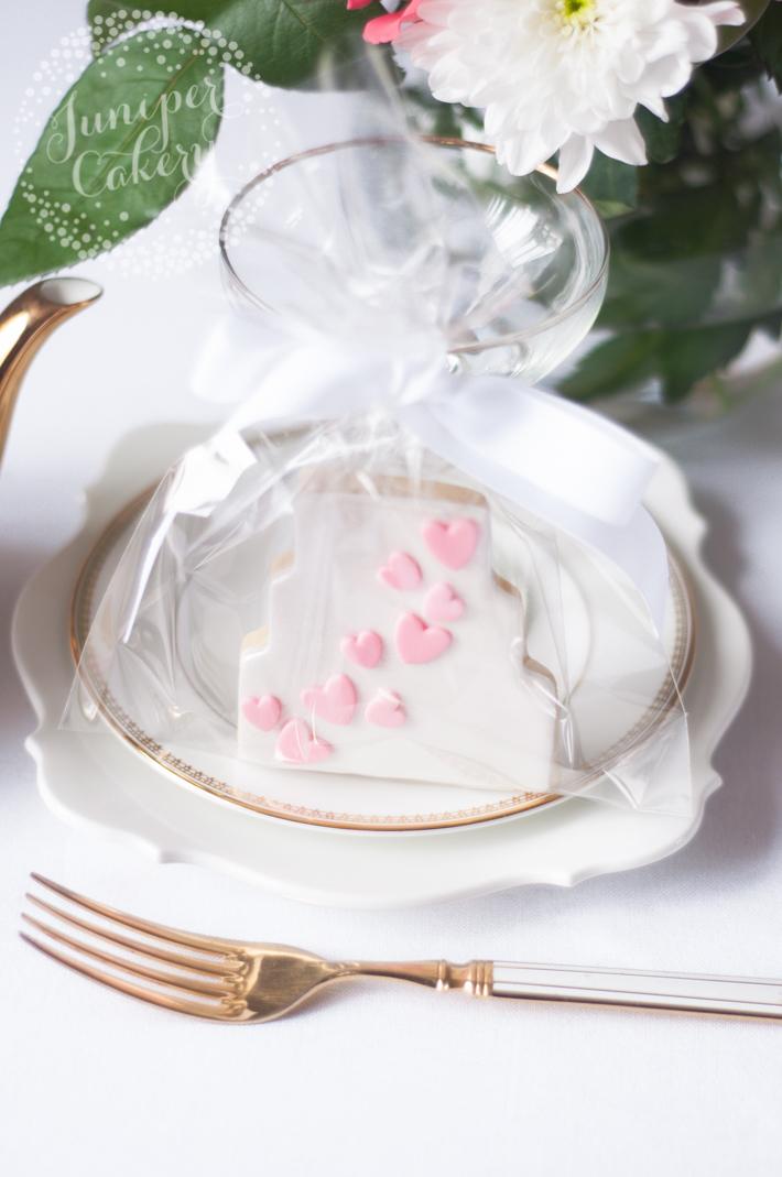 Wedding sugar cookie tutorial step-by-step