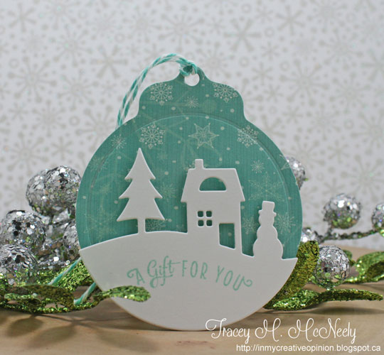 Serene Silhouette tag by Tracey McNeely