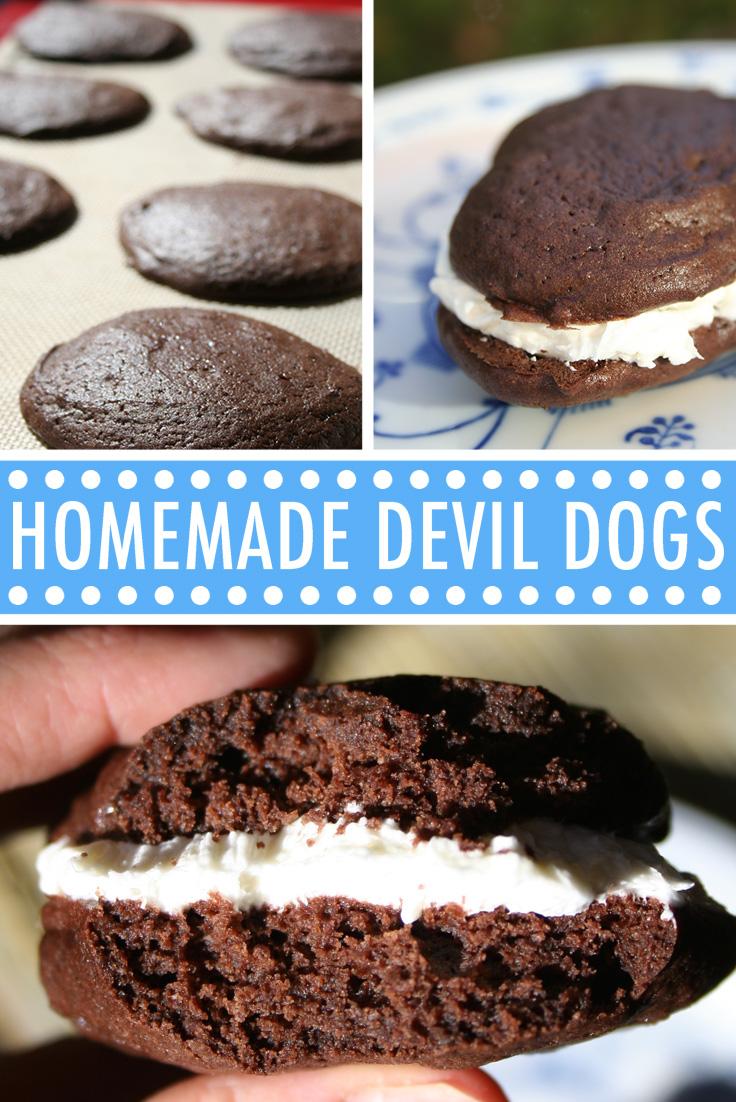 Homemade Devil Dogs