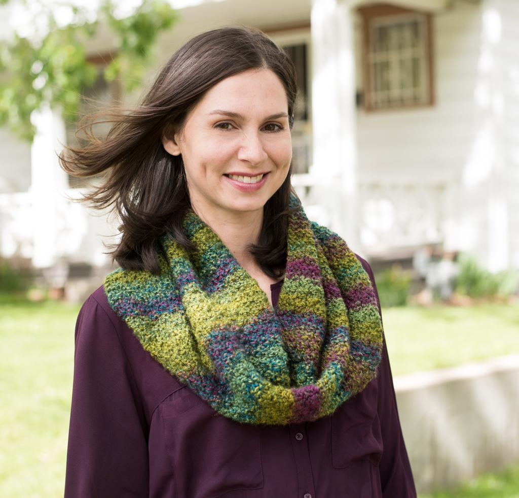 Marble Chunky Cowl Knitting Kit