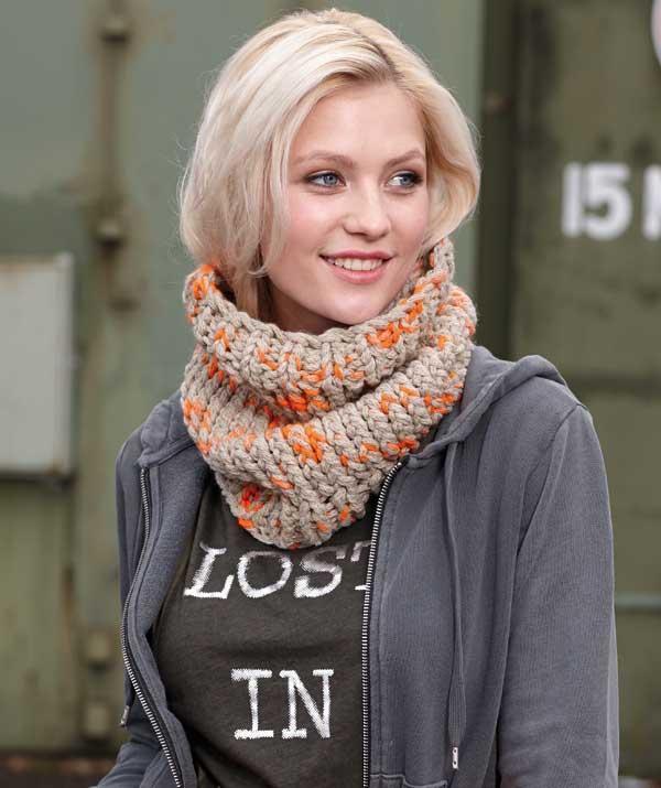 Schachenmayr Infinity Scarf Knitting Kit
