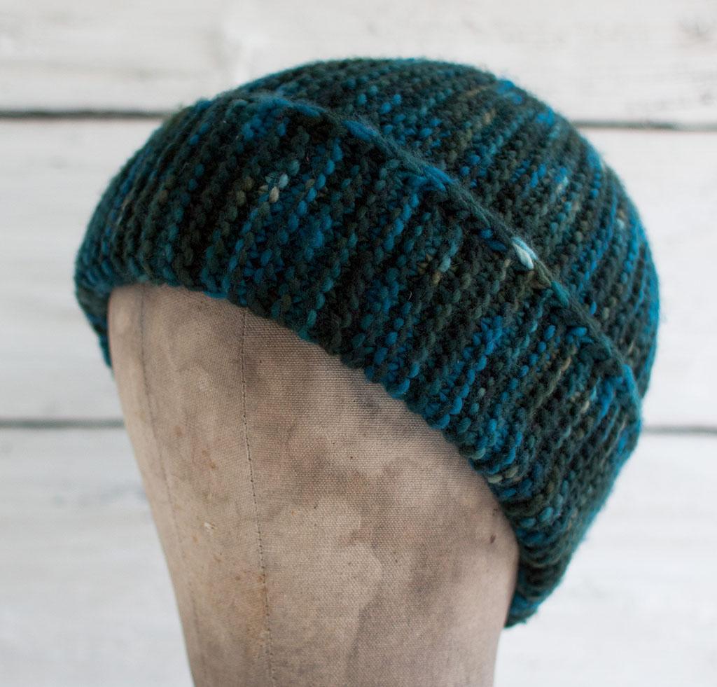 Paper Bag Cap Knitting Kit