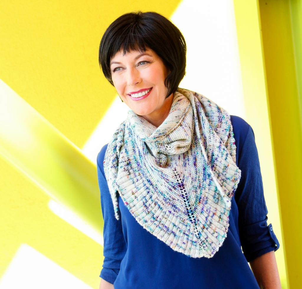 Mara Shawl Light Knitting Kit