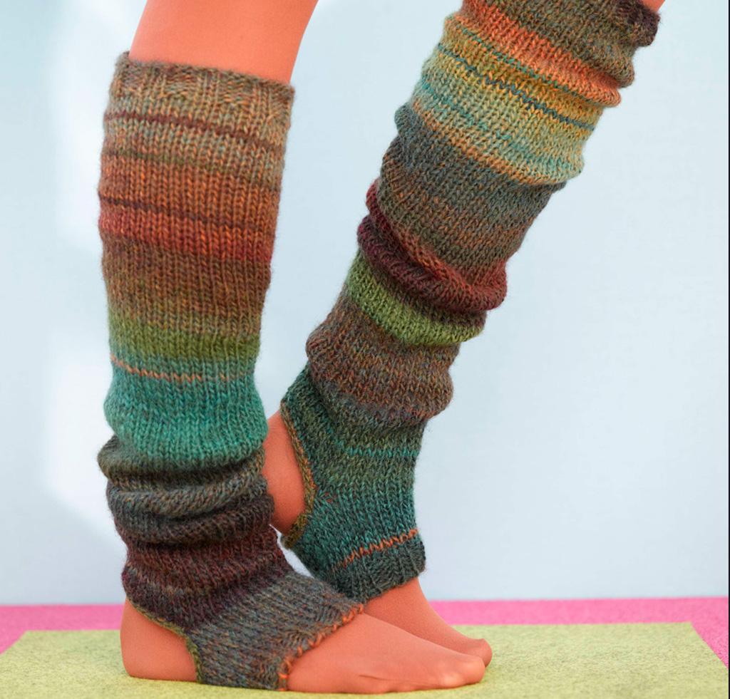 Sausalito Stirrup Socks Knitting Kit