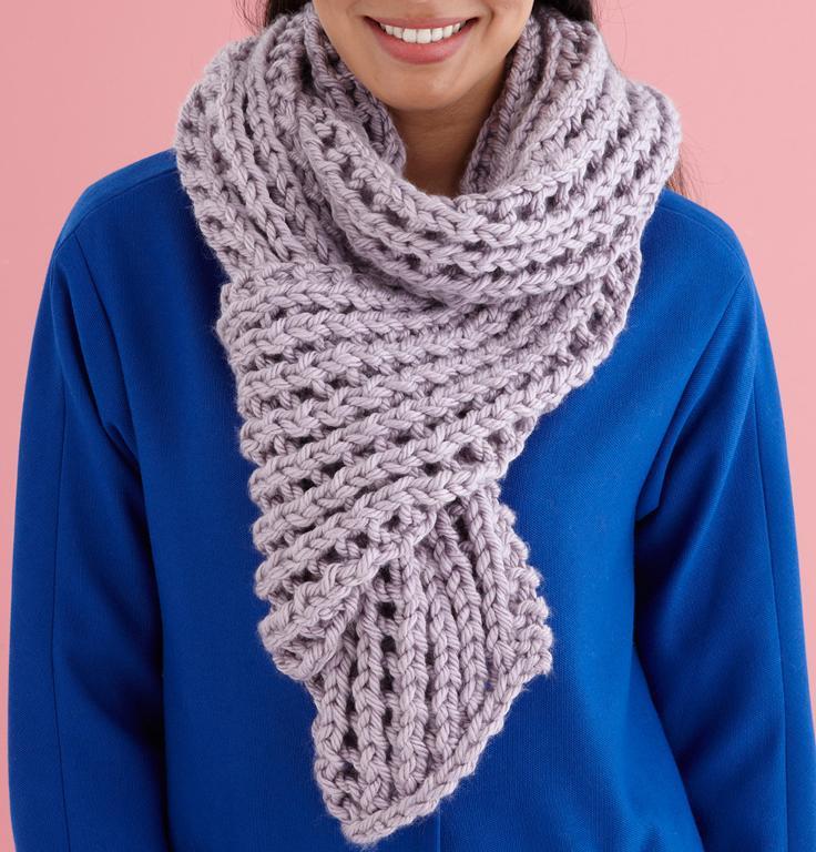 Misty Lace Scarf Knitting Kit