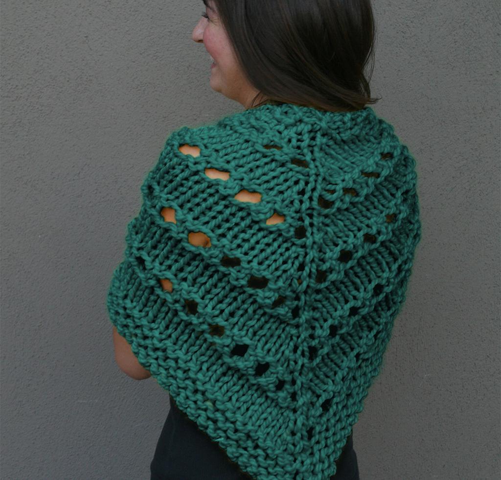 Lemon Bang Shawl Knitting Kit