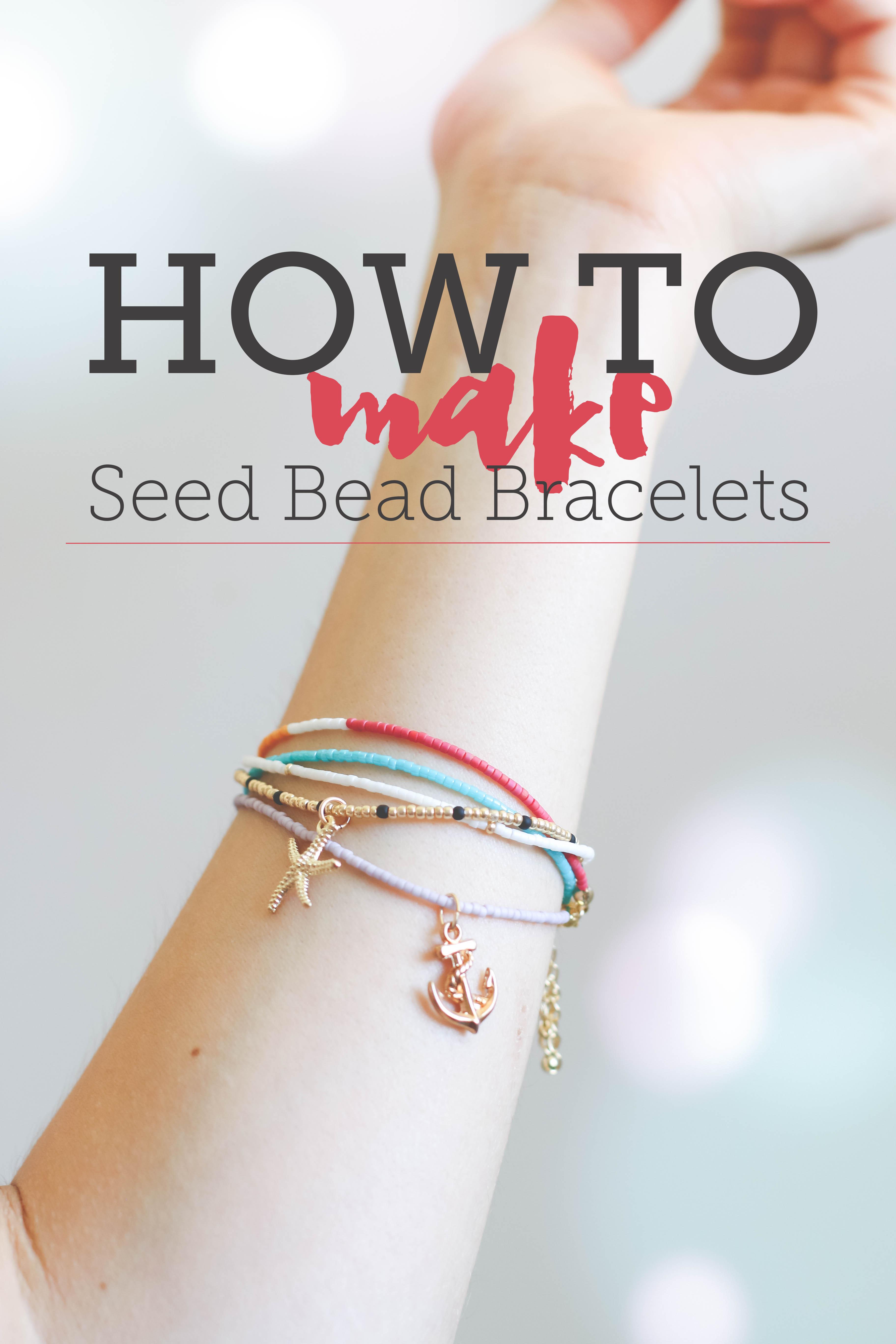 How to Make Seed Bead Bracelets: Free Tutorial