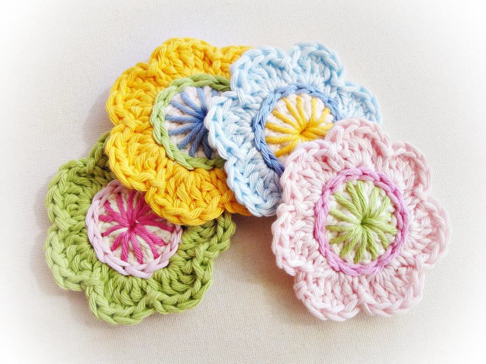 Simple Flower Appliques