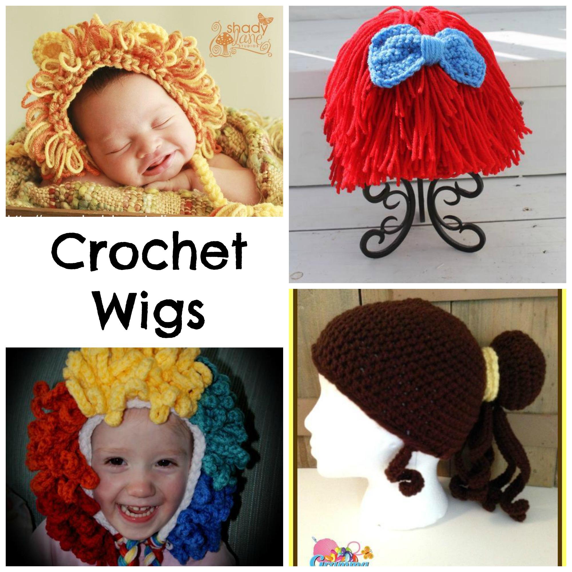 Crochet Wigs for Halloween
