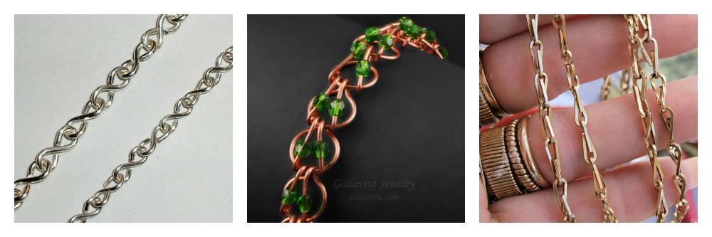 Free Wire Chain Jewelry Tutorials