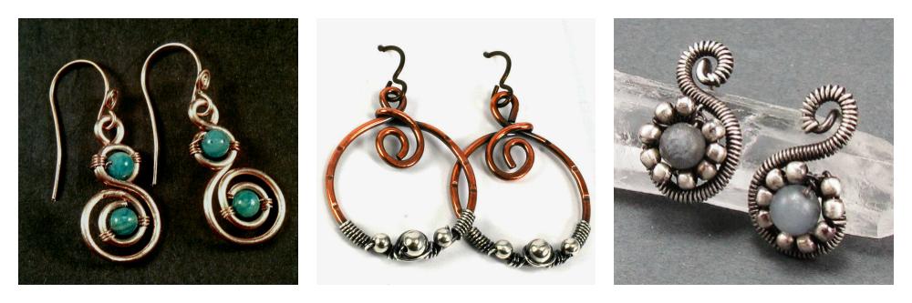 Free Wire Jewelry Tutorials
