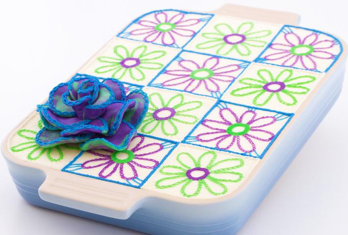 Final crochet cake
