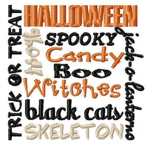 Halloween Block 1