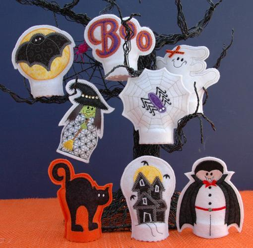 Halloween Flameless Tealight Covers