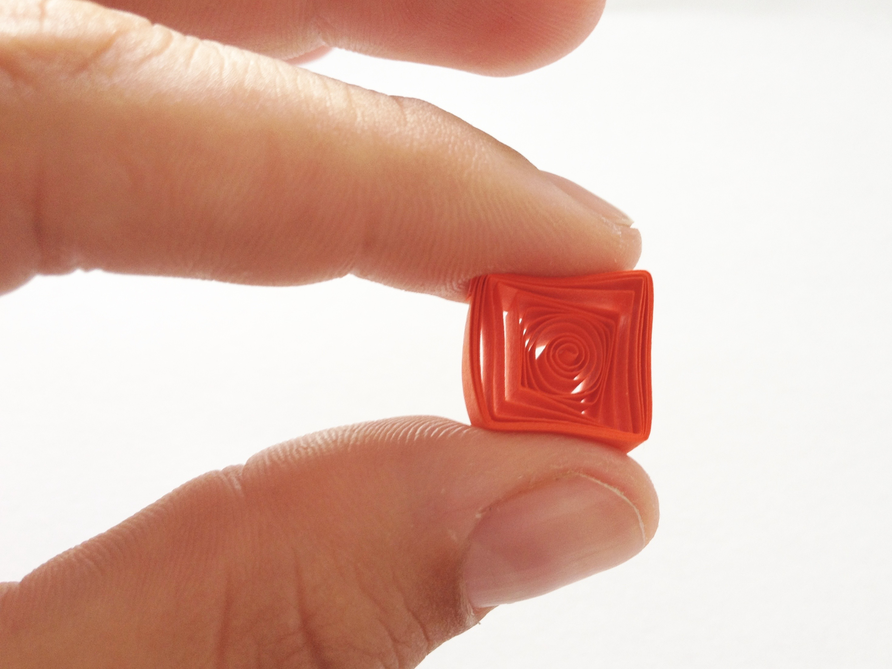 quilled square