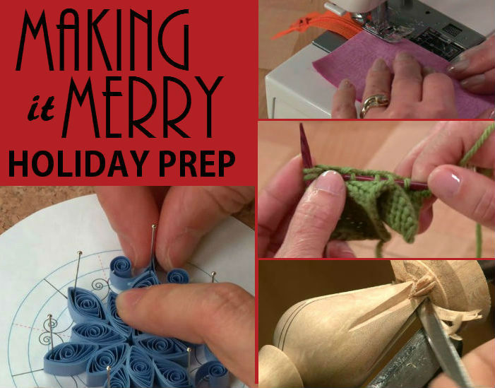 MAKING IT MERRY HOLIDAY PREP tips