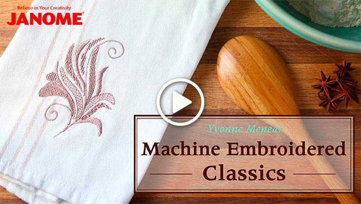 Machine Embroidered Classics Screen Shot