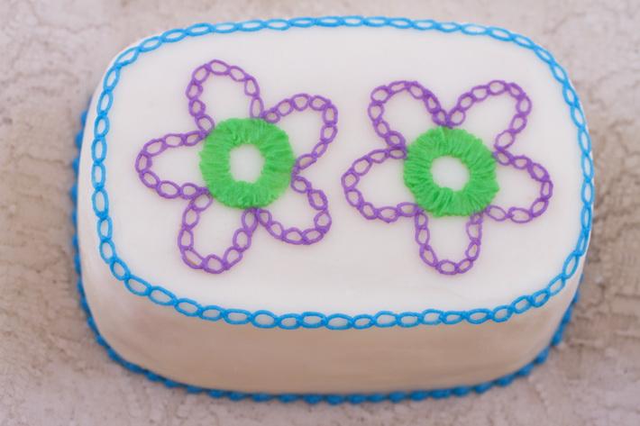 Mini loaf cake