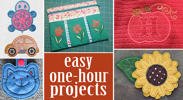 Put that extra hour of daylight to use and make some pretty spectacular things with these quick and easy projects!