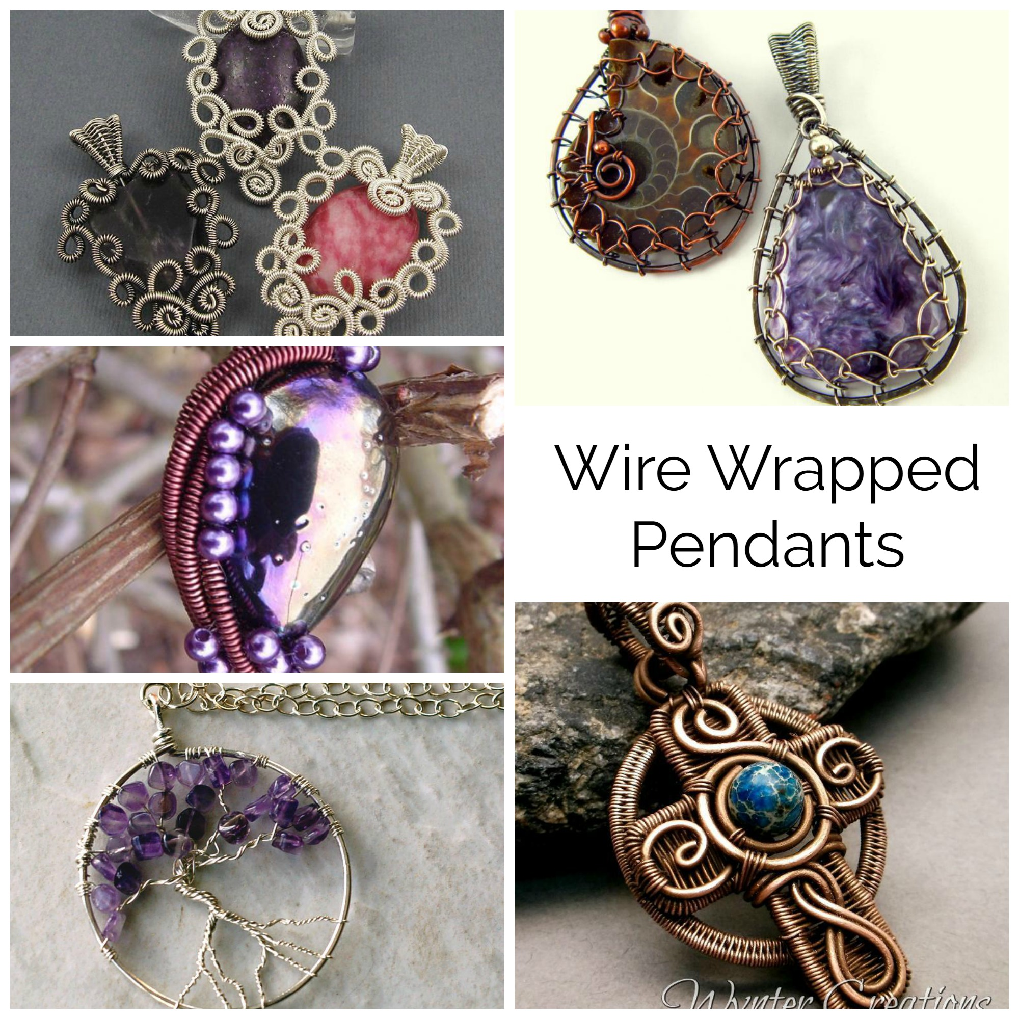 Wire Wrapped Pendant Patterns