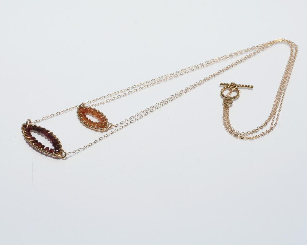 Layered Oval Necklace