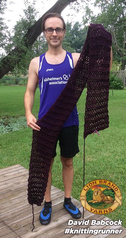David Babcock's Knit Scarf