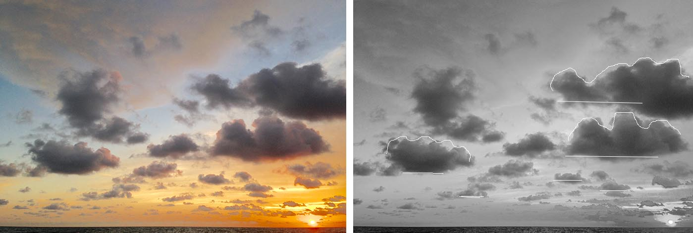 cloud shapes