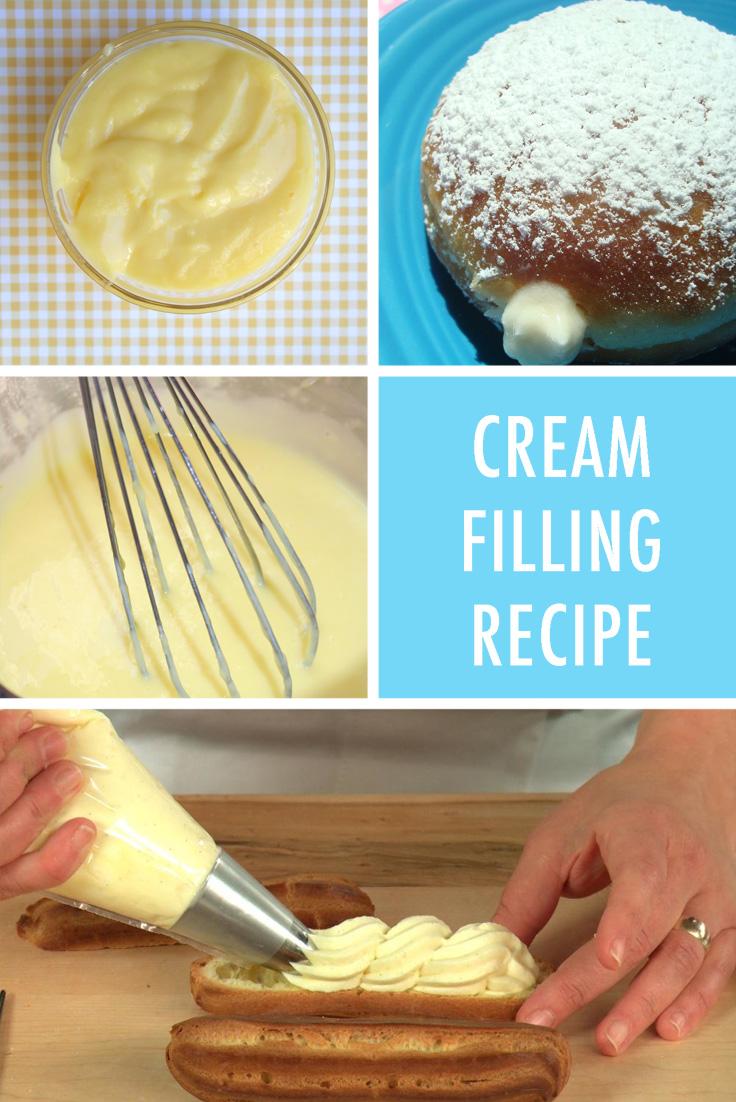 Cream filling recipe