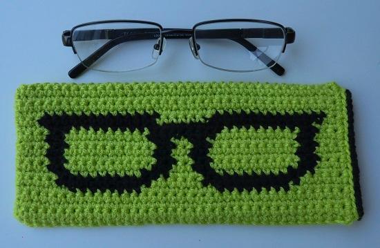 crochet glasses case pattern