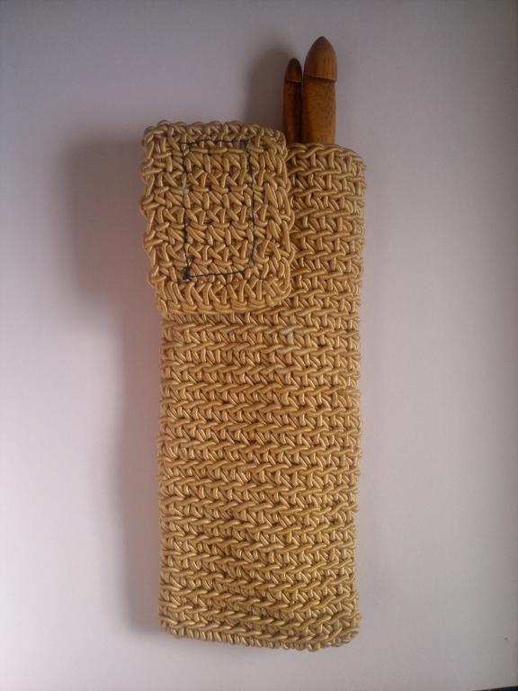 crochet glasses or hook case