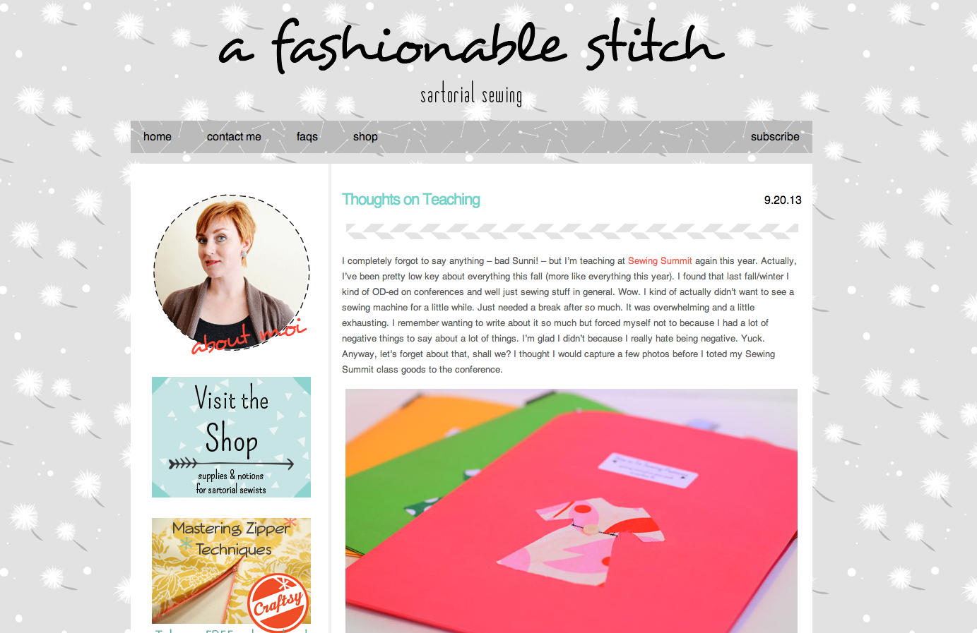 fashionable stitch blog