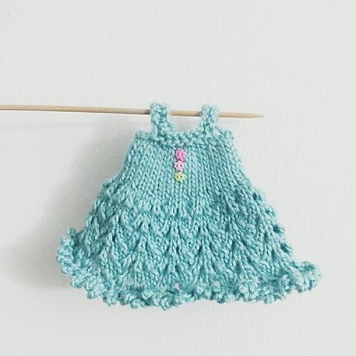 Blythe Knitted Lace Dress FREE Knitting Pattern