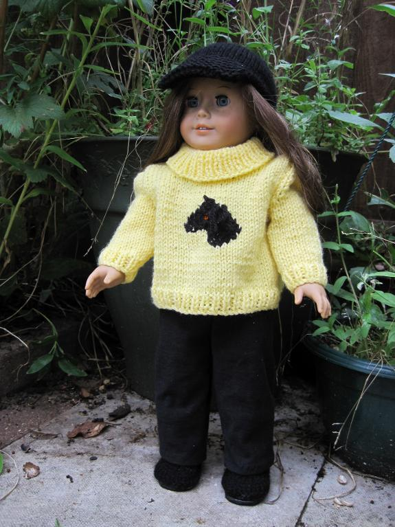 Tally Ho! American Girl Knitting Pattern