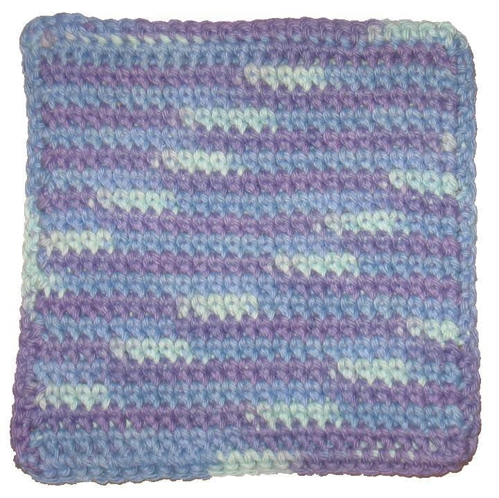 Free Double Thick Crochet Pot Holder Pattern